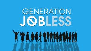 An image of the title for Generation Jobless.